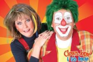 Clown Jopie en Tante Angelique Kindershow