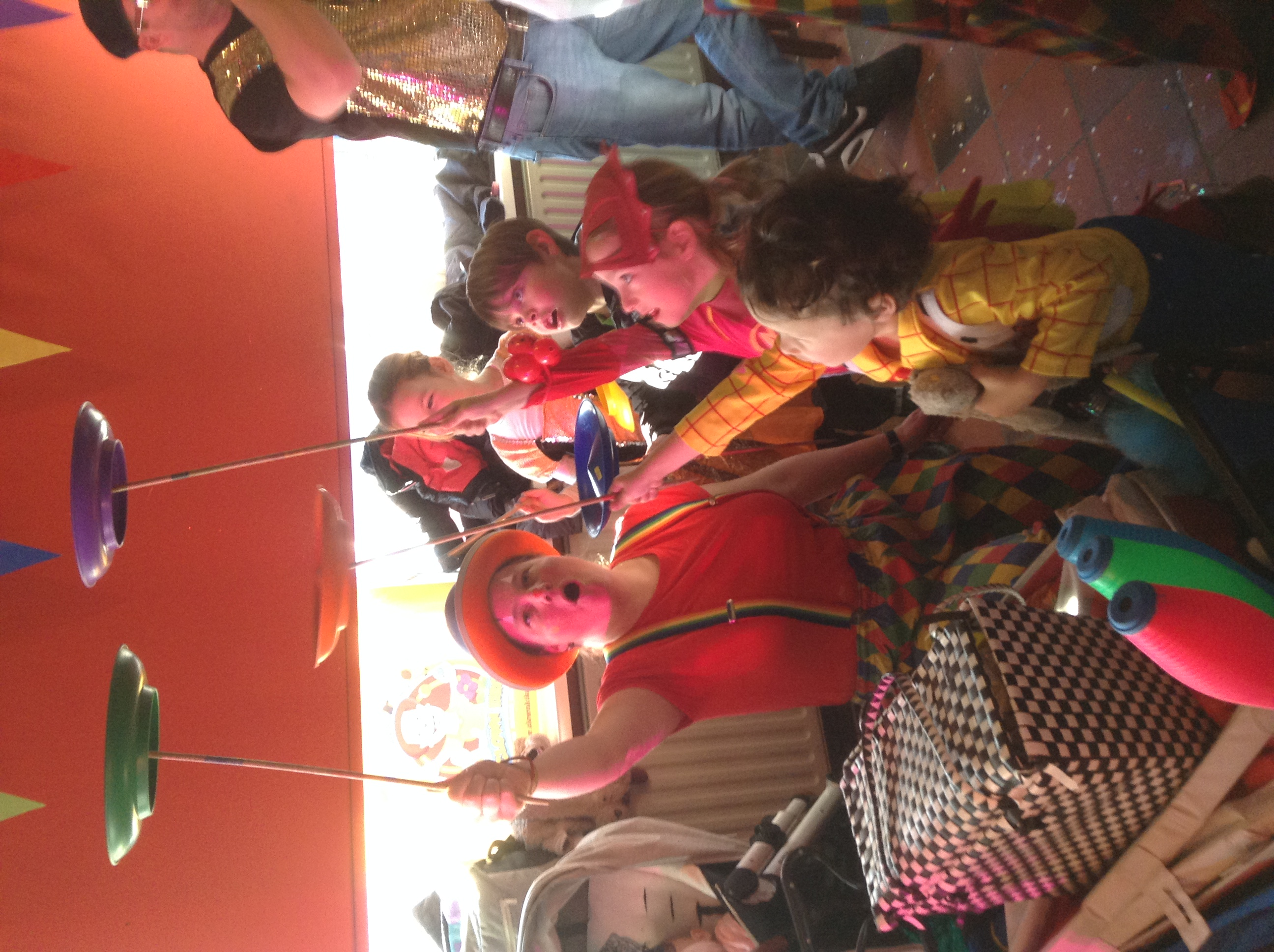 Clown Kiko met Carnaval