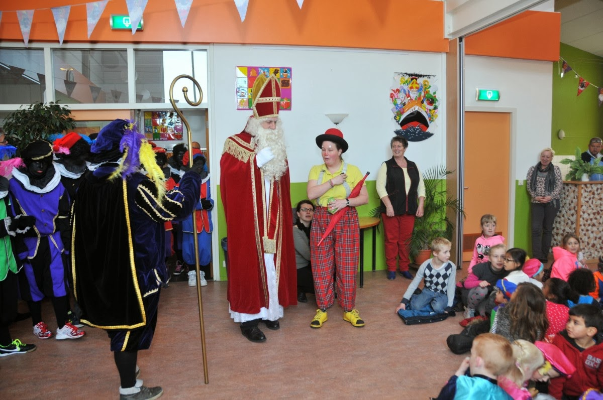 Clown Kiko en Sinterklaas